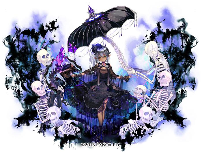 本日は『コフィンクイーン』に第二覚醒した『冥霊魔術師メルアビス』のイラストを公開いたします!