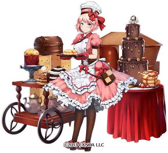 新バレンタインユニット一人目は『神業菓子職人オーガスタ』